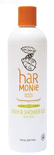 Harmony - Gel de baño y ducha de aloe vera (400 ml)
