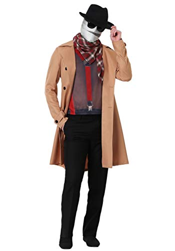 Adult Invisible Man Costume X-Large Brown
