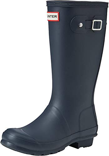 HunterHunter Original Wellies - Botas Unisex, para niños, color Azul, talla 31 EU