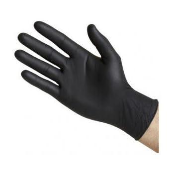 sin polvo Naranja Large//Size 9 25 pares Guantes desechables de nitrilo de alta calidad 50 unidades Gripster Skins by Gocableties Gocableties PPE Cat 3
