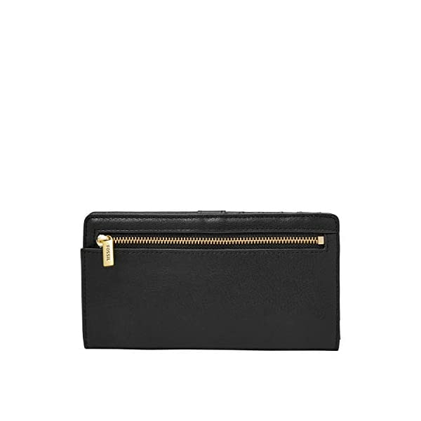Fossil Women's Liza Leather Slim Bifold Wallet 4