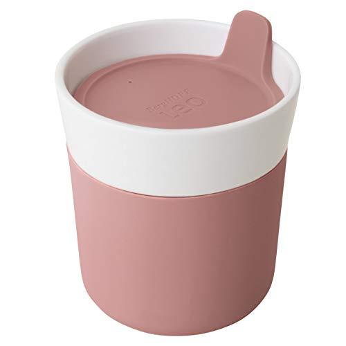 Berghoff 3950136 - Tazza da Viaggio in Porcellana, 0,25 l, Colore: Rosa
