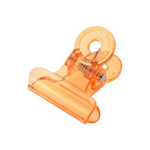 Hermione Hosmer Extension D'Art D'Ongle En Forme De Porte-Papier Clip De Fixation Clip D'Extension D'Ongle Porte-Papier C Courbe Formant Orange
