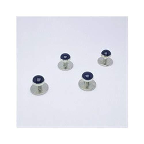 ZYQXB - Botones para camisa de esmoquin (color metal: CL 190)