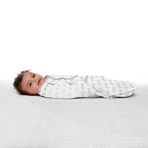 SwaddleMe Easy Change Swaddle – Size Small/Medium, 0-3 Months, 3-Pack (Love)