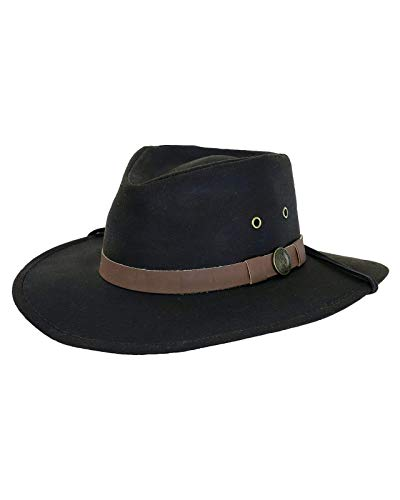 Outback Trading Company Western Hat, Brown, Large