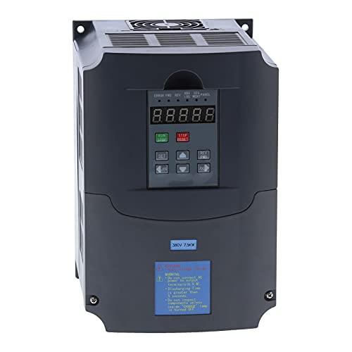 Unidad de frecuencia variable A2-3075 Controlador de velocidad de motor VFD trifásico Salida de 380V Inversor de 7.5KW para control de velocidad