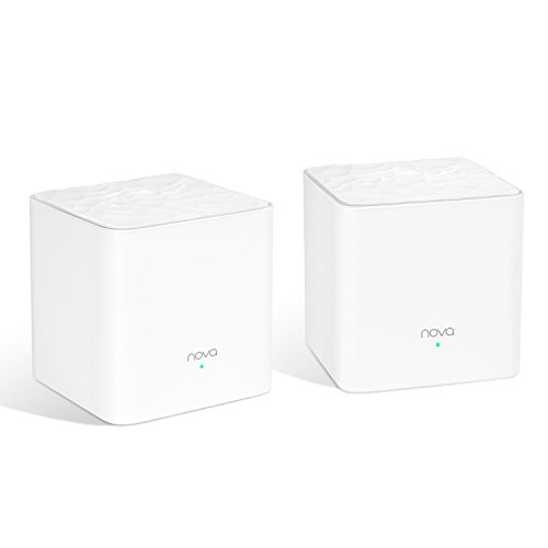 Tenda Whole Home Mesh WiFi System - Dual Band AC1200 Router Replacement for SmartHome,Works with Amazon Alexa for 3000 sq.ft 3+ Room Coverage (MW3 2PK)