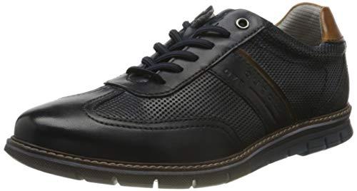 bugatti Herren Sandman Sneaker, Dark Blue, 40 EU