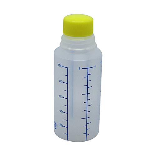 エムアイケミカル 投薬瓶Mボトル(未滅菌) 100CC(200ポンイリ) キャップ:黄