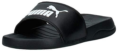 Puma Unisex Baby Popcat 20 Jr Zapatos de Playa y Piscina, Schwarz Black White, 35.5 EU