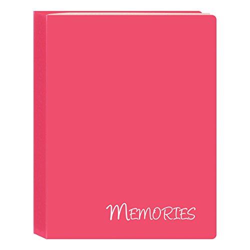 Pioneer Photo Albums I-46M/PK 36 Pockets Hold Memories Mini Photo Album, Pink, 4 x 6
