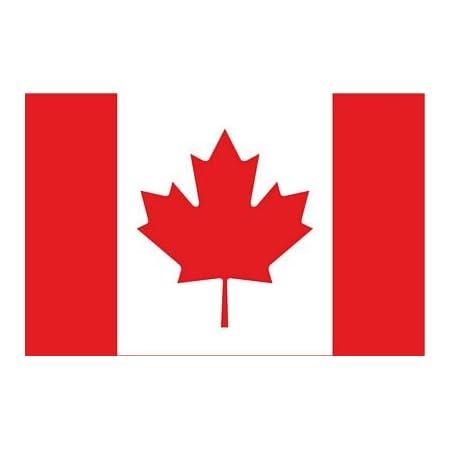 Whatabus Kanada Flagge Aufkleber Länderflagge Als Sticker 8 5 X 5 5 Cm Auto