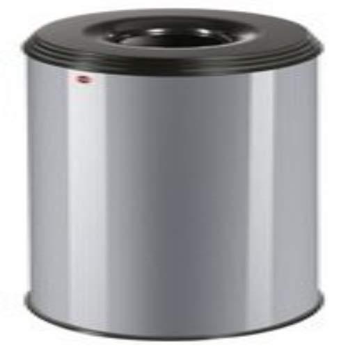 Preisvergleich Produktbild Hailo ProfiLine Safe XL Flammenlöschender Papierkorb (aus Stahlblech,  Deckel schwarz,  45 Liter) 0950-652