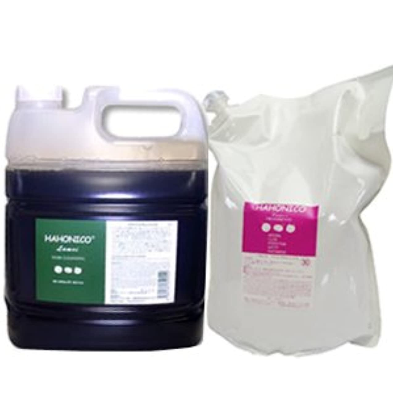 衝突するタンパク質ベースハホニコ ラメイヘアクレンジング 4000mL & ラメイプロトメント 2800g セット [Shampoo-land限定]