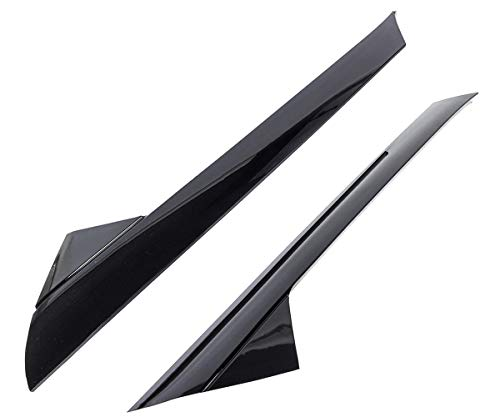 KARPAL A-Pillar Front Left + Right Molding Windshield Outer Trim Inner Replacement BB5Z-7803145-AA BB5Z-7803137-AB Compatible With 2011-2019 Ford Explorer