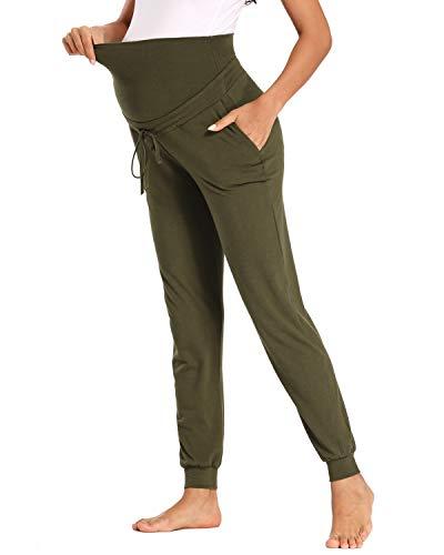 Love2Mi Umstandshose Schwangerschaft Jogginghose Mit 2 Taschen