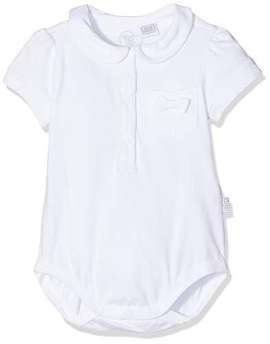 Chicco Chicco Baby-Mädchen Esternabile Manica Corta Body, Weiß (Bianco 033), 68 (Herstellergröße: 068)