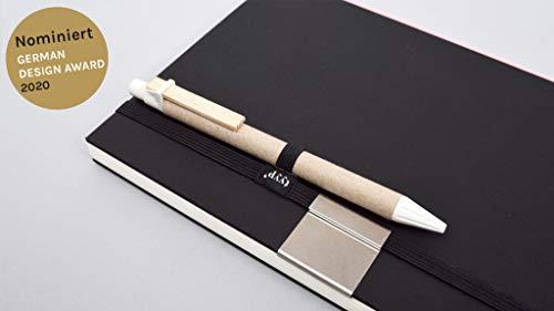 Stifthalter & Gummiband (Stiftschlaufe pen loop)
