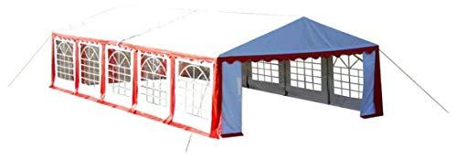 ZHENG Gazebo Plegable Carpas Plegables Gazebo Marquee Told Garden Tienda 10 x 5 m Rojo