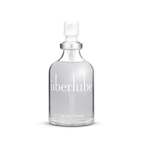 Überlube Premium Gleitgel | Natürliches Silikon Gleitgel mit Vitamin E- Latexkondomsicher| Geruchs-und geschmacksneutral, rückstandsfrei, funktioniert auch unter Wasser! - 50ml