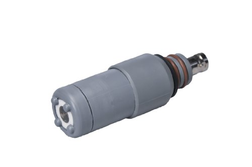 Flat Surface, self Cleaning, Robust pH Electrode, Sensorex S651CD Submersion, High Temperature Mounted pH Electrode, 0 to 14 pH, 57/64