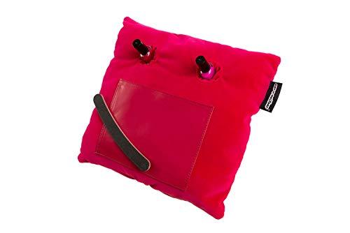 Manicure kussen, nagelkussen, luxe roze fluwelen stof, Home Studio, geen morsen meer!