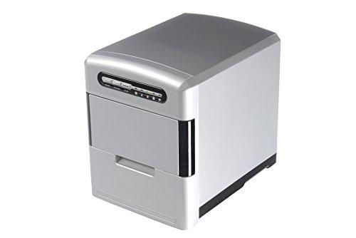 Trebs ijsblokjesmachine met uitneembare ijsblokjeslade incl. maatbeker en ijsblokjesschep, capaciteit 2,0 liter, 12 kg ijsblokjes in 24 uur, 140 watt