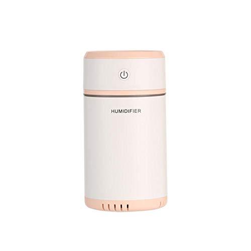 Haochide luchtbevochtiger, multifunctioneel, creatief design, afneembaar, met led-lampjes, ultrasone luchtreiniger, voor aroma-diffuser, mini-USB