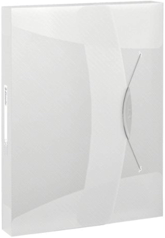 Esselte 5 x Ablagebox Vivida A4 PP bis 350 350 350 Blatt tranluzent weiß B00GLLX9J6 | Moderne Technologie  302eab