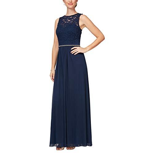 Alex Evenings Women's Long Sleeveless A-Line Dress (Petite and...