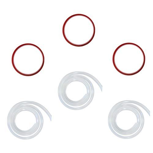 Kisangel 3 Juegos de Protectores de Esquina para Bebés Protectores de Bordes de Muebles Claros Kit de Seguridad para Niños Tira de Parachoques de Silicona a Prueba de Bebés