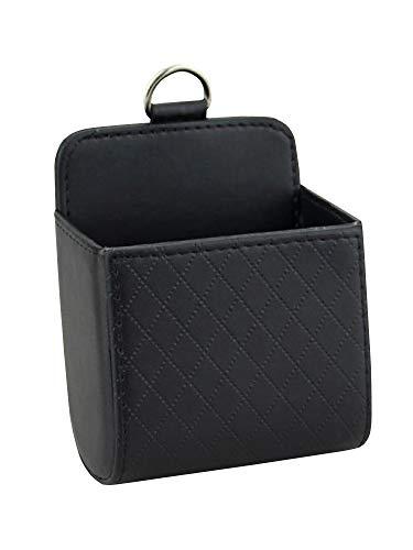 [ネルロッソ] 車載 小物入れ 車内 収納 車用 スマホ ホルダー ポーチ ケース ゴミ箱 ボックス ポケット 正規品 フリーサイズ ブラック cka241007-Free-bl