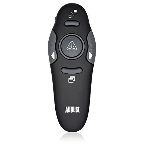 August LP205 - Wireless Laser Pointer Presentation Remote Control -...