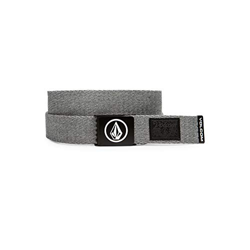 Volcom Circle Web Waist, Man, Gray (Heather Gray), O / S