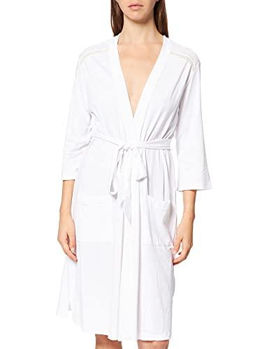 Women' Secret Medium Robe CATEGORIA Bata Batas, Blanco, S para Mujer