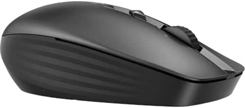 HP Wireless Multi-Device 635M Mouse - Travel Mouse - Wireless - Bluetooth - Black - USB - 4 Button(s)