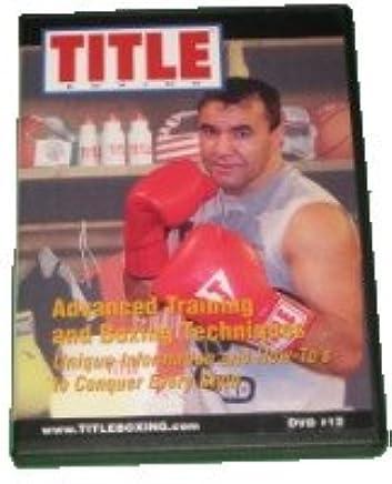 Amazon com: Jeff Fenech Title Boxing: Advanced Training and
