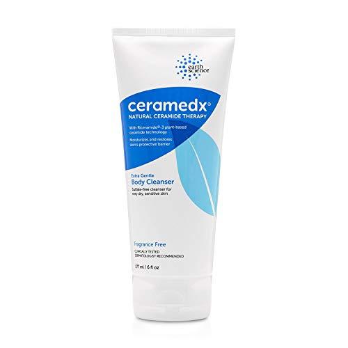 CERAMEDX - Extra Gentle Natural Ceramide Cleanser: Unscented for Dry, Sensitive Skin (6 fl. oz.)