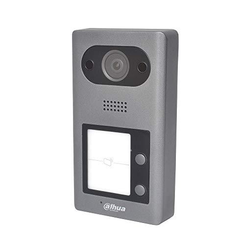 Dahua - Estación Exterior Dahua IP PoE videoportero 2 MP cámara de 2 Botones y Lector IC S2 - VTO3211D-P2-S2