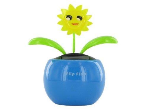 Wackelblume Solarblume Solar Blume Solarflower Flip Flap Schmetterling SB-08