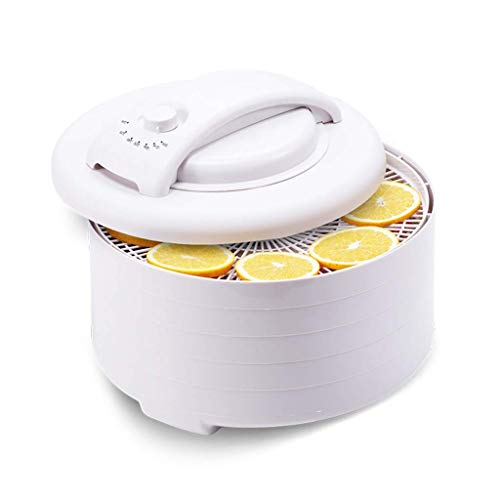 Check Out This IhDFR Food Dehydrator & Dryer - Fruit Dryer Machine Electric 5 Tier Food Preserver wi...