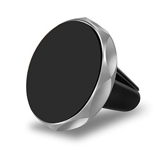 Nething Universal-KFZ-Handyhalterung, magnetisch, kompatibel mit allen Smartphones von Apple, Samsung, Huawei, Xiaomi (Silber)