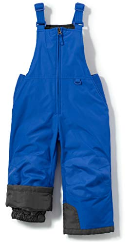 TSLA CLSX Kids Little Boys Girls Baby Winter Snow Bibs, Waterproof Insulated Snowboard Overalls, Ripstop Ski Pants, Winter Snow Overall Blue, 5 Years
