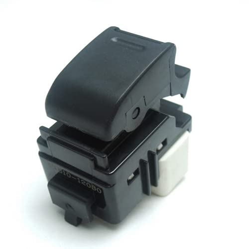 Xiyuncao Botón de Interruptor de Ventana eléctrica de Coche, para Toyota Yaris VIOS Corolla Prius Crown RAV4 HILUX 8481012080 84810-12080