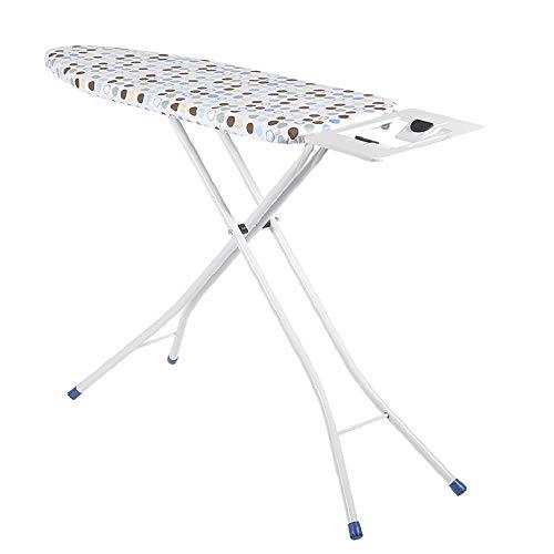XiuHUa Strijkplank, huishoudelijke draagbare opklapbare ijzeren plaat strijkplank tafel rek met ijzeren plank twee stijlen om uit te kiezen Strijkplank