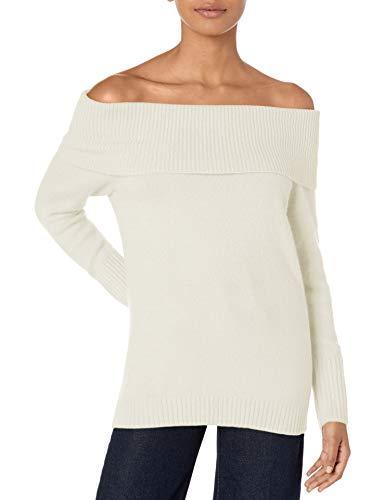 Armani Exchange vrouwen klassieke lange mouwen uit de schouder fit trui