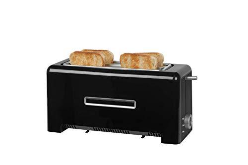 MEDION, Toaster, mit zwei langen Schlitzen 1400W braun