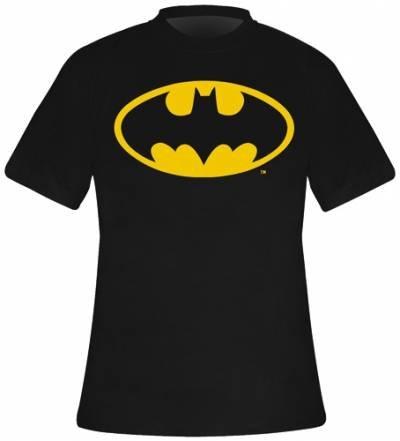 Batman Logo - Camiseta para Hombre, Color Negro, Talla 2XL
