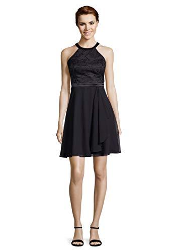 Vera Mont VM Damen 0069/4825 Kleid, Blau (Night Sky 8541), (Herstellergröße: 42)